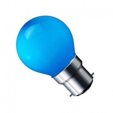 CARNI1.8 LED lampa - 1,8W, blå, 230V, B22