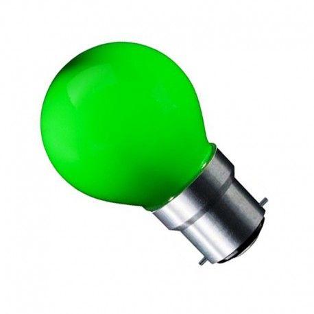CARNI1.8 LED lampa - 1,8W, grön, 230V, B22