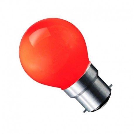 CARNI1.8 LED lampa - 1,8W, röd, 230V, B22