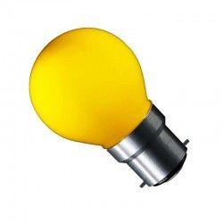 B22 LED CARNI1.8 LED lampa - 1,8W, gul, 230V, B22