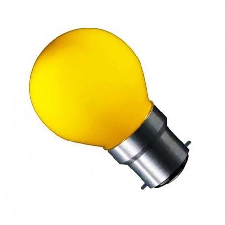 CARNI1.8 LED lampa - 1,8W, gul, 230V, B22