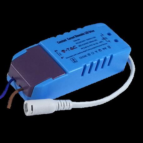 V-Tac 8W driver till 8W downlight - Dimbar, 230V