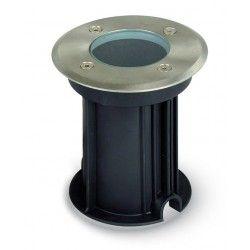 Uplights V-Tac utomhus spotlight - Rund, rostfritt stål, GU10 sockel