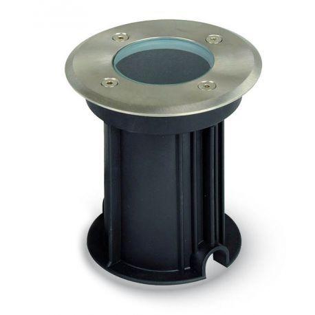 V-Tac utomhus spotlight - Rund, rostfritt stål, GU10 sockel