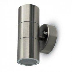 Vägglampor V-Tac vägglampa med upp/ned ljus - IP44 utomhusbruk, GU10 sockel, utan ljuskälla