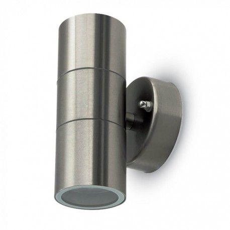 V-Tac vägglampa med upp/ned ljus - IP44 utomhusbruk, GU10 sockel, utan ljuskälla