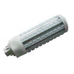G24 LED GX24Q LED lampa - 20W, 360°, klart glas