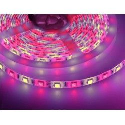 12V RGB+WW V-Tac 10,8W/m RGB+WW LED strip - 5m, 60 LED per. meter