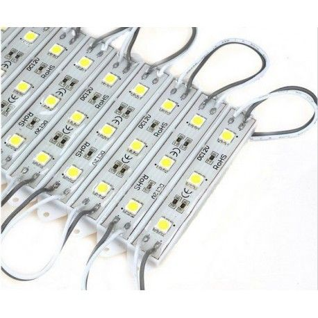 Vattentät LED modul - 0,9W, IP67, Perfekt till skyltar och speciallösningar