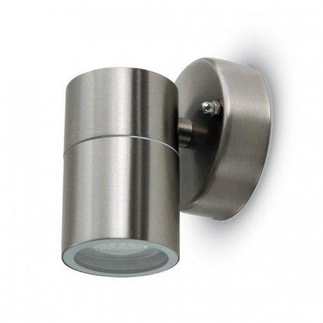 V-Tac vägglampa - IP44 utomhusbruk, GU10 sockel, utan ljuskälla