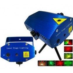 Diverse Disco laser - Röd och grön