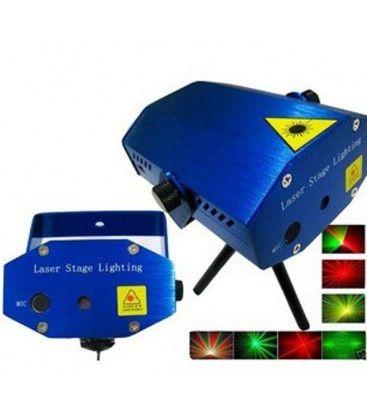 Disco laser - Röd och grön