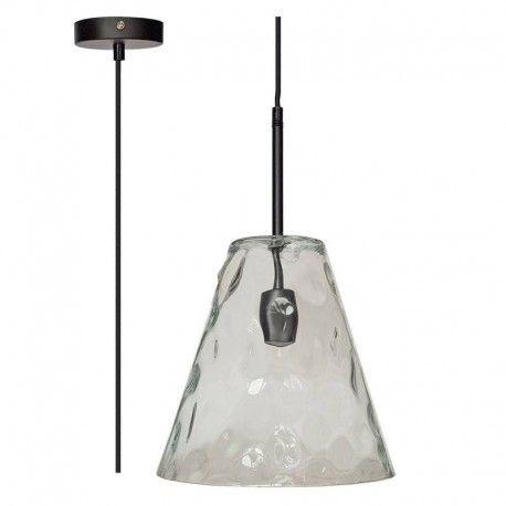 V-Tac modern pendellampa - Konisk glas, Ø27 cm, E27