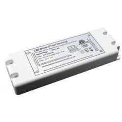 El-produkter 45W dimbar strömförsörjning - 12V DC, 4,1A, IP20 inomhus