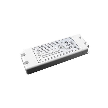 45W dimbar strömförsörjning - 12V DC, 4,1A, IP20 inomhus