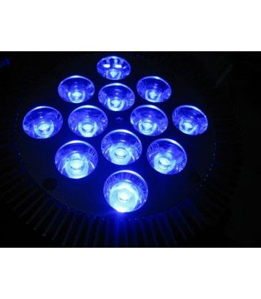 LED växtlys, 12W, E27, Ren blå, Grow lamp