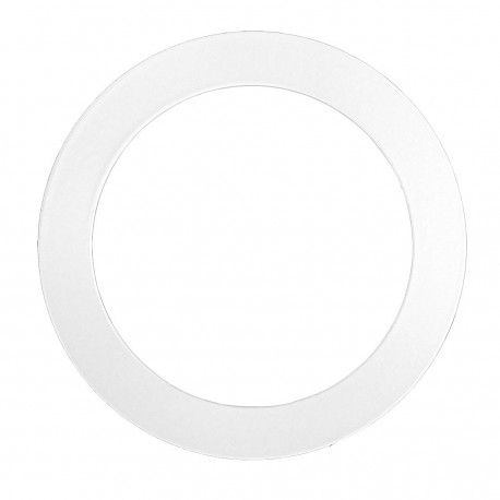 Förstoringsring - Hål: Ø7,7 cm, Mål: 12,5 cm, matt vit, passa till Inno88