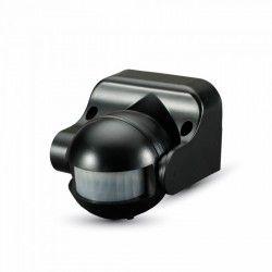 Vägglampor V-Tac rörelsesensor - LED venlig, svart, PIR infraröd, IP44 utomhusbruk