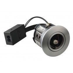 Badrum Downlights LEDlife Inno88 - MR16, borstad alu, IP44, godkänd i isolering