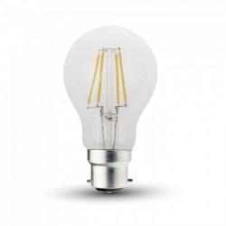 B22 LED V-Tac 5W LED lampa - Filament, B22
