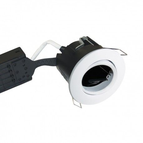 Nordtronic downlight - Vit, IP44, utomhusbruk