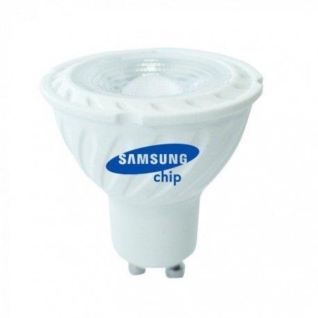 V-Tac 6,5W LED spotlight - Samsung LED chip, 230V, GU10