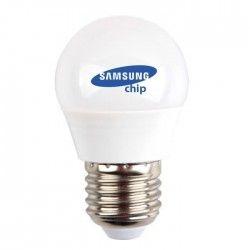 E27 vanliga LED V-Tac 4,5W LED lampa - Samsung LED chip, G45, E27
