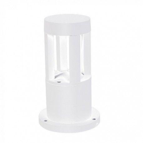 V-Tac 10W LED trädgårdarmatur - Vit, 25 cm, IP65, 230V