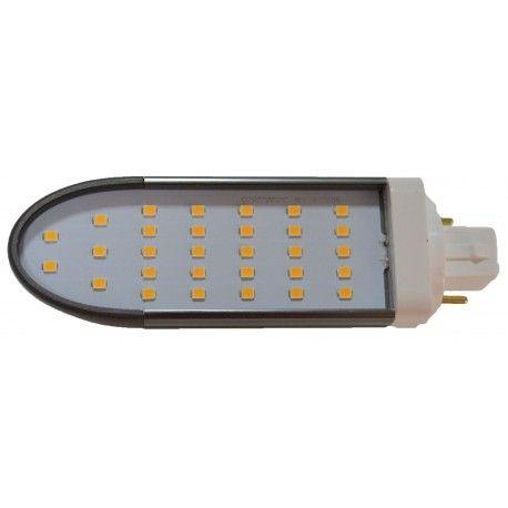 LEDlife G24Q-DIRECT8 LED lampa - HF kompatibel, 120°, 8W