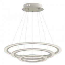 V-Tac 70W LED lysekrone med 3 ringe - Dimbar, mjuk lys, Ø60cm