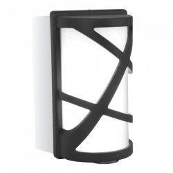 Utomhus vägglampa V-Tac svart vägglampa - IP54 utomhusbruk, E27 sockel, utan ljuskälla