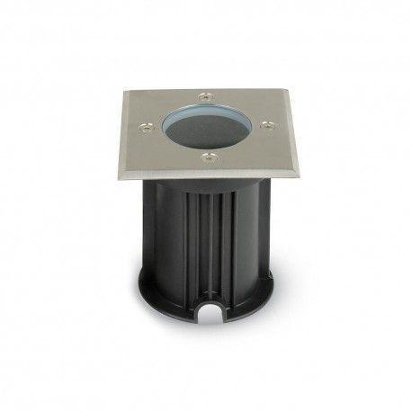 V-Tac utomhus spotlight - Kvadrat, rostfritt stål, GU10 sockel