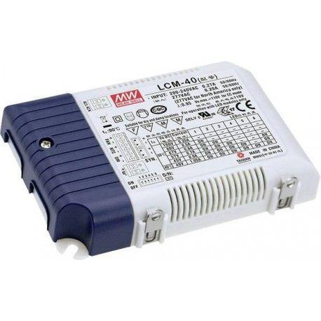 Meanwell LCM-40DA DALI dimbar driver till LED panel - Med Dali interface, passa till vår 29W LED paneler