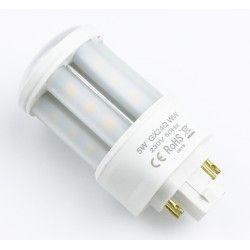 G24 LED LEDlife GX24Q LED lampa - 5W, 360°, matt glas
