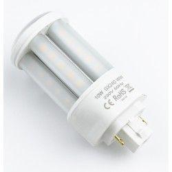 G24 LED LEDlife GX24D LED lampa - 10W, 360°, matt glas