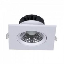 LED Downlights V-Tac 5W LED downlight - Hål: Ø7,5 cm, Mål: 9x9 cm, indbyggt driver, 230V