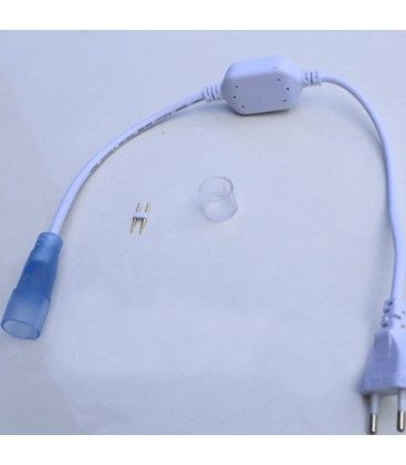 Kontakt till D16 Neon Flex LED - Inkl. ändstycke, IP67, 230V