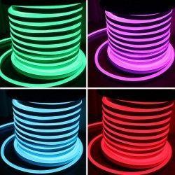 RGB 8x16 Neon Flex LED - 18W per. meter, IP67, 230V
