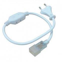 230V Neon Flex Kontakt till 8x16 Neon Flex LED - Inkl. ändstycke, IP67, 230V
