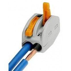 Downlights Skruvlös snabbkoppling till 2 ledningar