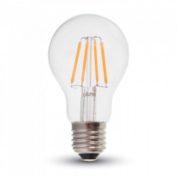 E27 LED V-Tac 6W LED lampa - Samsung LED chip, Filament, A60, E27