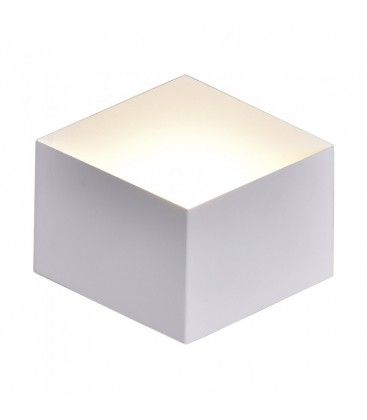 V-Tac 3W LED vägglampa - Vit, IP20 inomhus, 230V, inkl. ljuskälla