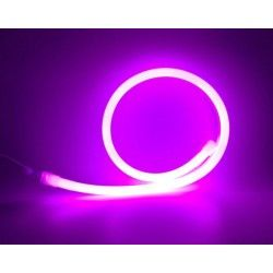 LED strip D16 Neon Flex LED - 8W per. meter, Lilla / pink, IP67, 230V