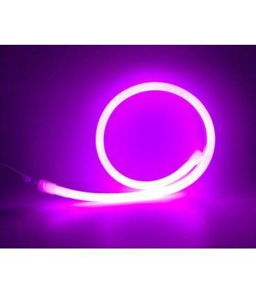 Lilla / pink D16 Neon Flex LED - 8W per. meter, IP67, 230V