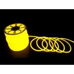 230V Neon Flex Gul D16 Neon Flex LED - 8W per. meter, IP67, 230V