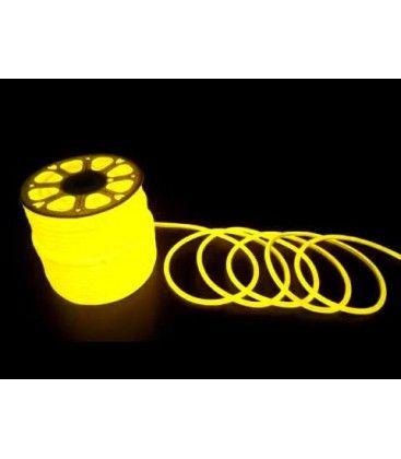 Gul D16 Neon Flex LED - 8W per. meter, IP67, 230V