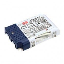 LED paneler Meanwell LCM-60 0-10V dimbar driver till LED panel - Passa til vår 45W LED paneler