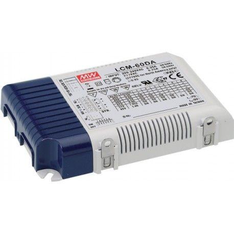 Meanwell LCM-60DA DALI dimbar driver till LED panel - Med Dali interface, passa till vår 45W LED paneler