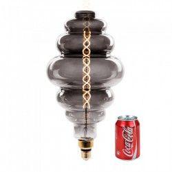 E27 LED V-Tac 8W LED jätte globlampa - Filament, Ø20 cm, dimbar, extra varmvitt, 2000K, E27