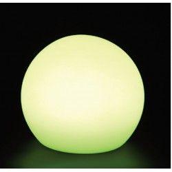Trädgårdslampor V-Tac RGB LED boll - Uppladdningsbart, med fjärrkontroll, Ø30 cm